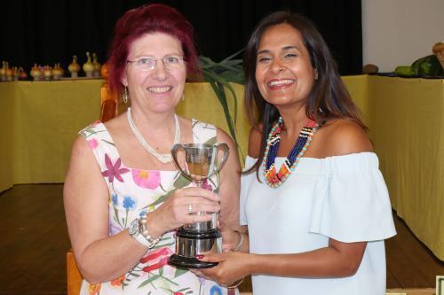 RGHC Satnam Rana and Floral Art Cup winner Felicity Rixon WEB 2-9-17