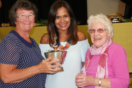 RGHC Satnam Rana with Challenge Cup winners Val Roberts and Sylvia Johnson WEB 2-9-17